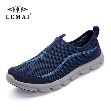 Men Casual Shoes, Summer Mesh For Men,Super Light Flats Shoes, Foot Wrapping Big