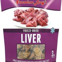 Grandma Lucy's Chicken Liver Cat & Dog Treats 3 oz