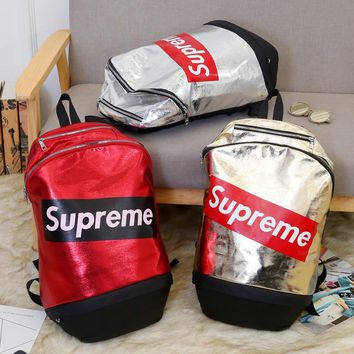 Supreme School Bag Bookbag Backpack Travel Bag