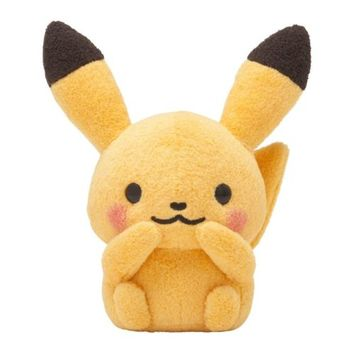 Pokemon Center x Shinzi Katoh Pokemon Little Tales Pikachu plush doll XY