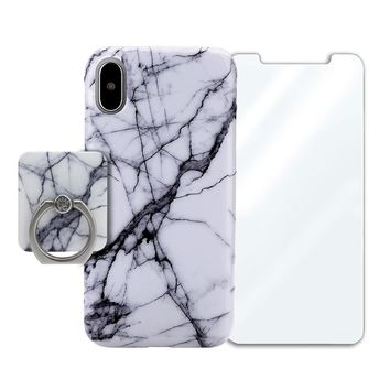 White Gray Marble Bundle Set