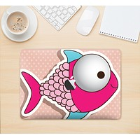 "The Colorful Vector Big-Eyed Fish Skin Kit for the 12"" Apple MacBook"