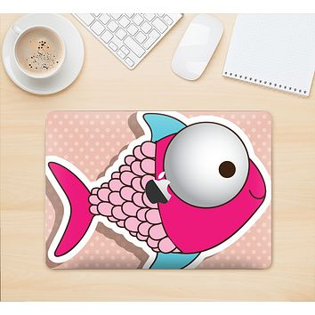 """The Colorful Vector Big-Eyed Fish Skin Kit for the 12"""" Apple MacBook"""