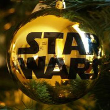 SALE - Star Wars Ornament - Very LARGE