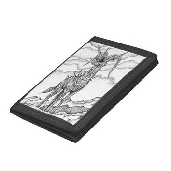 King of cliffs tri-fold wallets