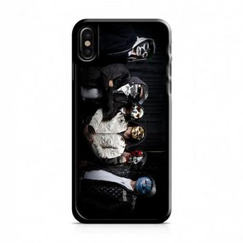 Hollywood Undead (group masks jackets) iPhone X Case
