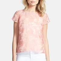 Women's Chelsea28 Organza Floral Shell