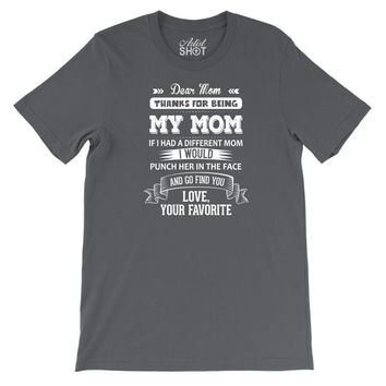 Dear Mom, Love, Your Favorite Youth Tee