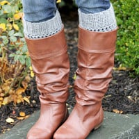 Boot Cuffs, Boot Toppers, Boot Socks, Leg Warmers, Ankle Warmers,Textured and Stretchy