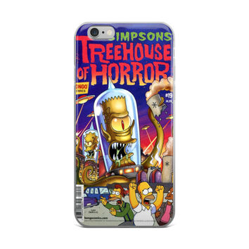 Simpsons Comics #19 Treehouse Of Horror iPhone 4 4s 5 5s 5C 6 6s 6 Plus 6s Plus 7 & 7 Plus Case