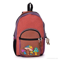 Psychedelic Mushroom Backpack on Sale for $46.95 at HippieShop.com