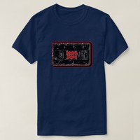 Horror Movies - Video Cassette Red Black T-Shirt