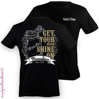 NEW Hot Gift Simply Southern Moonshine Girl Girlie Bright T Shirt