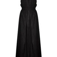 Black Grecian Maxi Cover Up - Swimwear  - Clothing