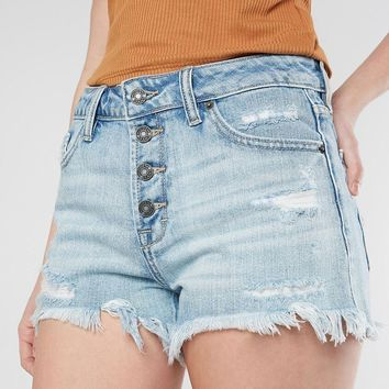 HIDDEN Sofie Ultra High Rise Mom Short - Women's Shorts in Light | Buckle