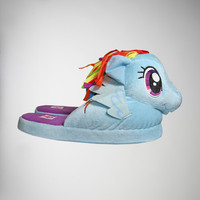 My Little Pony Rainbow Dash Adult Slippers