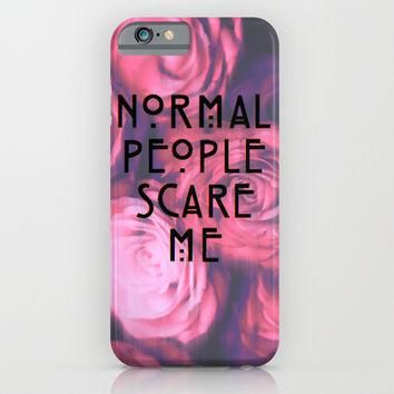 Murder House iPhone Case iPhone & iPod Case by The Supreme