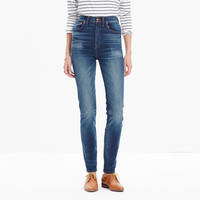 RIVET & THREAD EXTRA-HIGH SKINNY JEANS IN BAYSHORE WASH