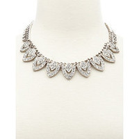Diamond Deco Statement Necklace: Charlotte Russe