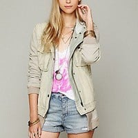 Free People  Long Knit Hooded Jacket at Free People Clothing Boutique