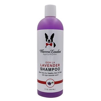 Calming Lavender Shampoo with Aloe Vera - 17oz