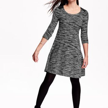 Old Navy Fit & Flare Knit Dress