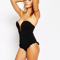 Stone Cold Fox for Beach Riot V Front Swimsuit