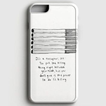 Fault In Our Star Cigarettes iPhone 8 Case