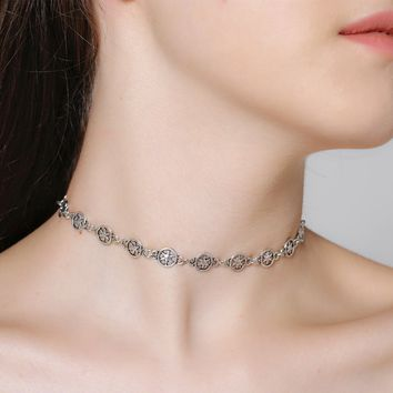 171124 Simple Alloy Stars Accessories Clavicle Necklace C1447