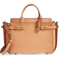 COACH 1941 Double Swagger Leather Satchel   Nordstrom