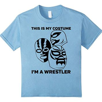 Wrestler Halloween Costume Tshirt - Men Women Youth Sizes