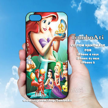 The Little Mermaid - Print on Hard Cover For iPhone 4/4S and iPhone 5 Case
