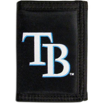 Tampa Bay Rays Velcro Tri-fold Wallet