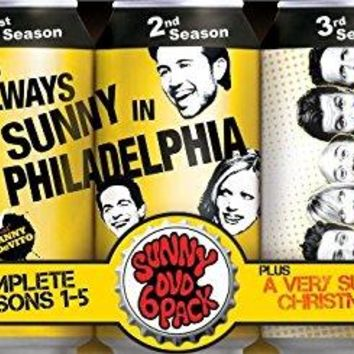Charlie Day & Glenn Howerton - It's Always Sunny in Philadelphia: Complete Seasons 1-5 + A Very Sunny Christmas Special