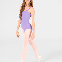 Free Shipping - Adult Cotton Camisole Dance Leotard by MIRELLA