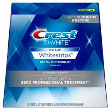 Crest 3D White Luxe Whitestrips Supreme FlexFit Teeth Whitening Kit - 14ct
