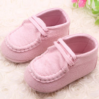 Baby Toddler Soft Sole Prewalker Flat Sneakers Girl Boy Casual Anti-Slip Shoes NW