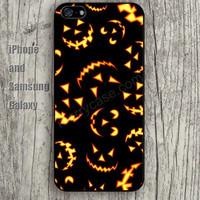 Halloween fire colorful iphone 6 6 plus iPhone 5 5S 5C case Samsung S3,S4,S5 case Ipod Silicone plastic Phone cover Waterproof
