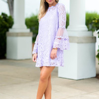 Love Is In The Air Dress, Lavender