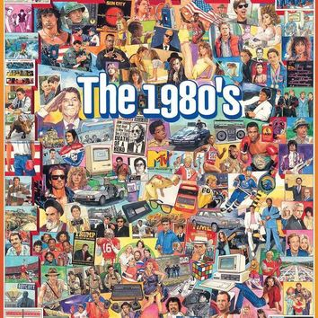 The Eighties 1,000-Piece Jigsaw Puzzle