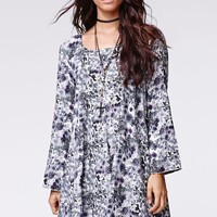 Some Days Lovin Fade Away Floral Dress - Womens Dress - Floral