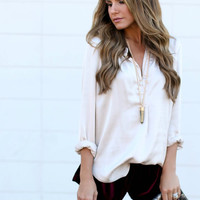 Satin Damsel Blouse