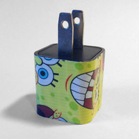 Sponge Bob Square Pants iPhone USB Charger by VanityCases on Etsy