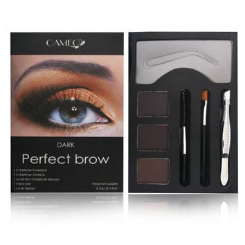 Perfect Brow Makeup Dark Brown Beauty Eye Shape Shade Cosmetics