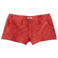 Target : Mossimo Supply Co. Juniors Lace Short - Assorted Colors : Image Zoom