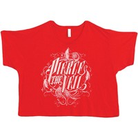 Pierce The Veil  Logo Junior Top Red