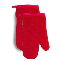 Cucina Kitchen Mitts | Red