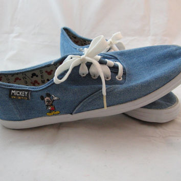 NOS Mickey Unlimited Mickey Mouse tennis shoes 8.5M by hippiejo74