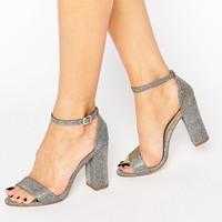 New Look Shimmer Barely There Heel