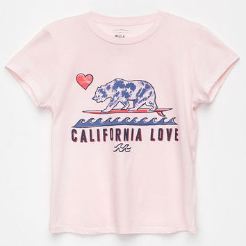 BILLABONG Cali Bear Girls Tee | Graphic Tees